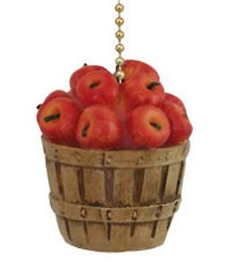 Clementine Country Kitchen Apple Basket Ceiling Fan Pull Lig