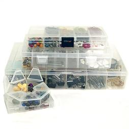Craft Storage Organizer Bundle – 5 PCS Craft Bead School S