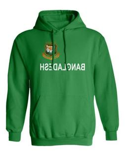 Cricket Bangladesh Jersey Style Fans Supporter Men's Hooded