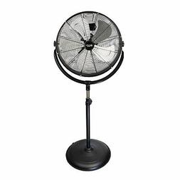 Comfort Zone CZHVP20S High-Velocity Industrial 3-Speed Fan