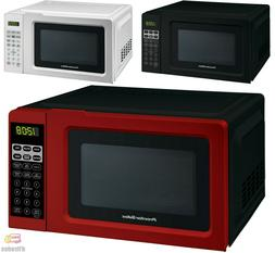 Digital Countertop Microwave Oven Red, Black, White New Free