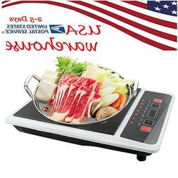 Digital Electric Induction Cooktop Countertop Burner Heater