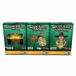 Discover with Dr. Cool 3 Pack Geology Science Kit Gold Panni