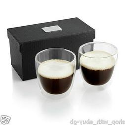 Double Walled Thermo Insulated Espresso Coffee Tea Whisky Tu