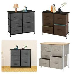 Dresser Organizer With 5 Drawers Fabric Dresser Tower For Be