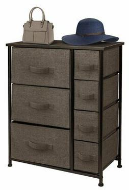 Sorbus Dresser with 7 Drawers - Furniture Storage Tower Unit