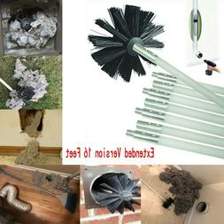 Dryer Duct Cleaning Vent Venting Lint Trap Removal Brush Vac