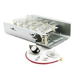 Dryer Heating Element and Thermostat Combo Pack for Whirlpoo