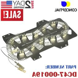 Samsung Dryer Heating Element DC47-00019A Heater OEM Replace