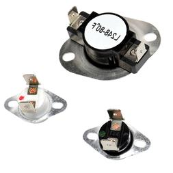 HQRP Dryer Thermostat & Thermal Fuse Kit for Maytag AP424247