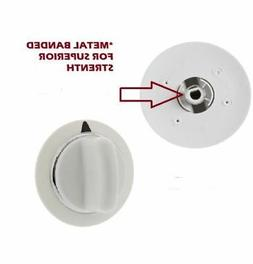 Dryer Timer Control Knob White for GE WE01X20374 PS8769912 A