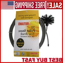 Dryer Vent Duct Cleaning Kit 20-feet Long Clear Clean Cleane