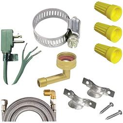 CERTIFIED APPLIANCE DWKIT1 Dishwasher Installation Kit elect