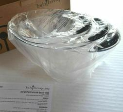 Pampered Chef EASY-READ MEASURING CUP SET of 3 -