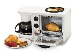 MaxiMatic EBK-200 Elite Cuisine 3-in-1 Breakfast Station 4-C