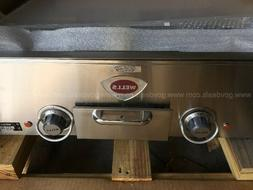 WELLS ELECTRIC GRIDDLE - MODEL PG13 CHROME FINISH BRAND NEW!