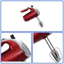 ELECTRIC HAND MIXER Ergonomic Design Durable Dishwasher Safe