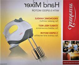 Sunbeam Electric Hand Mixer Whisk 5 Speed with Stainless Ste