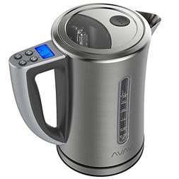VAVA 1.7 L Digital Electric Kettle with LCD Display & Adjust