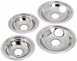 Stove Drip Pans Electric Burner Covers Top Replacement Bowls
