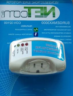 Electronic Surge Protector for Refrigerators up to 27 Cuft a