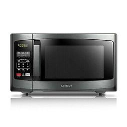 Toshiba EM925A5A-BS Microwave Oven with Sound On/Off ECO Mod