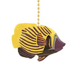 Emparada Tropical Fish TiKi Nursery Ceiling Fan Light Pull