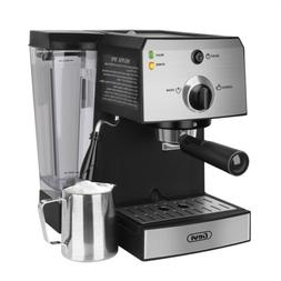 Espresso Machine & Cappuccino Maker Built-In Steamer & Froth