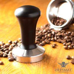Premium Espresso Coffee Tamper with Stainless Steel Base