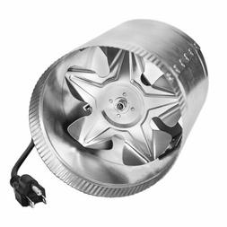 iPower GLFANXBOOSTER4 Inline Duct Booster Fan with Cord, 4-I