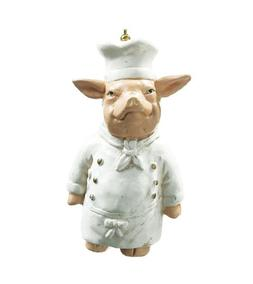 FAT Chef PIG Cook Ceiling FAN Pull Kids Kitchen