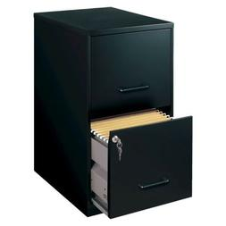 Filing Cabinet 2-Drawer Metal - Perfect for Home Office