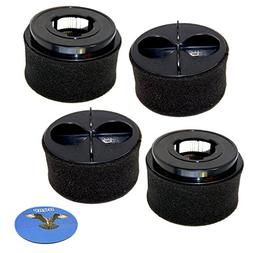 HQRP 4-Pack Filter Set for Bissell 6583, 6585 series 65833,