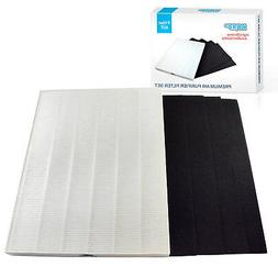 Filter Set  for Fellowes Aeramax 290 300 DX95 Air Purifiers