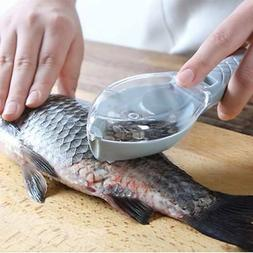 Fish Scales Skin Remover Scaler Knife Fast Cleaner New Home