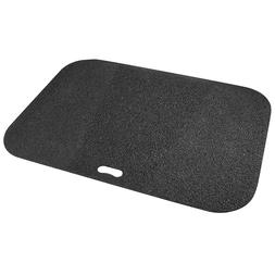 Black Deck Grill Pad Floor Stain Spill Patio Protection Mat