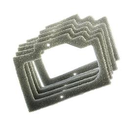 HQRP 5-Pack Foam Gasket Air Filters for Homelite Chainsaw 95