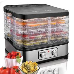 Meflying Professional Food Dehydrator Machine with 5 Stackab