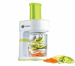 BRENTWOOD FP560G FP-560G Spiralizer, Small, Green