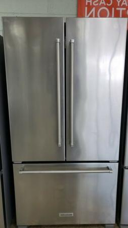 KitchenAid French door Stainless Steel counter depth