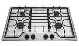 "Frigidaire 30"" Stainless Steel 4 Burner Gas Cooktop FFGC3012"