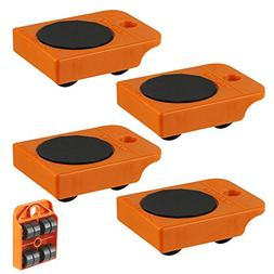 Generic 4pc Furniture Mover Rollers - Furniture & Appliances