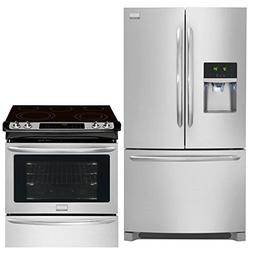 Frigidaire Gallery 2-Piece Smudge-Proof Stainless Steel Kitc