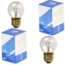 2-PK GE Type Appliance Oven Refrigerator Bulbs 40 Watt Mediu