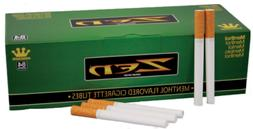 ZEN Green Menthol King Size - 3 Boxes - 200 Tubes Per Box RY