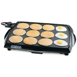 Griddle Grill Electric Cooker Pancake Cookware Flat Top Larg