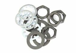 Guitar nut, washer & lock washer for US CTS Pots & Switchcra