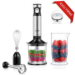 Kealive Hand Blender, Smart Speed Control Hand Immersion Ble
