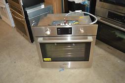 "Bosch HBL5351UC 30"" Stainless Single Electric Wall Oven NOB"