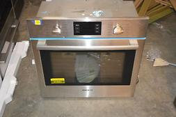 "Bosch HBL5451UC 30"" Stainless Single Electric Wall Oven NOB"